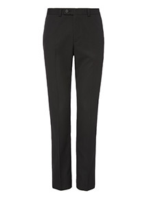 Black Sim-fit Trousers