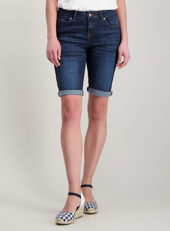 849e98a5 Womens Dark Denim Bermuda Shorts | Tu clothing