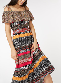 Animal Print Maxi Dress