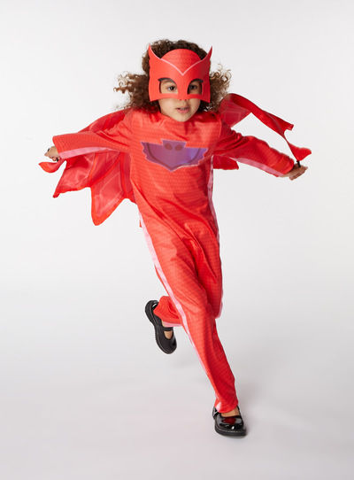 Red Disney Owlette Costume (2-8 years)