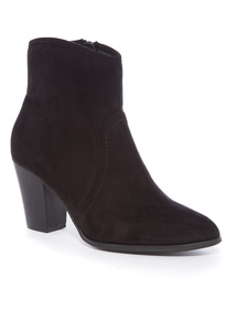 Western High Ankle Boot