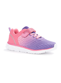 Star Embossed Trainers (6 Infant - 4)