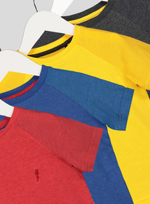 4 Pack of Multicoloured Brights T-Shirts (9 months- 6 years)