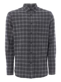 Grey Checked Shirt