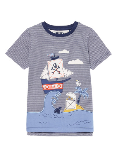 Multicoloured Pirate Beach Tee (9 months - 6 years)