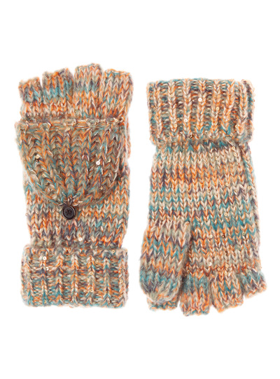 Space Dye Fold Over Mittens