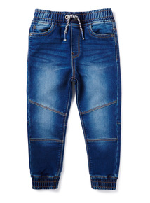Denim Cuffed Hem Slim Jeans (3-14 years)