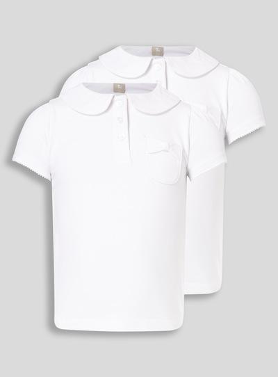 0ff0ea194daba1 Kids White 2 Pack Fashion Jersey Polo (3-12 years)   Tu clothing