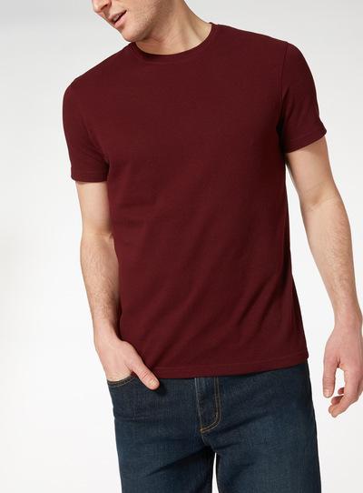 b46db6d80bd Menswear Dark Red Popcorn T-shirt
