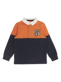 Boys Multicoloured Rugby Top (3-12 years)