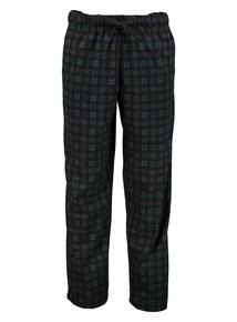 Green Checked Pyjama Bottoms