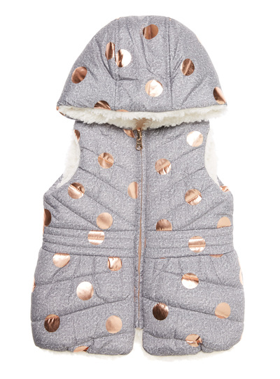 Grey Reversible Gilet (9 months-6 years)