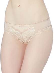 Beige Audrey Brazilian Brief