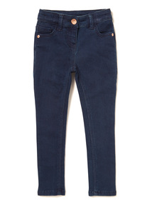 Dark Denim Skinny Jeans (3-14 years)