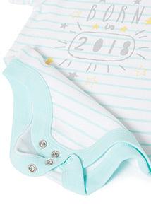 White 'Born in 2018' Bodysuit (Newborn-12 months)