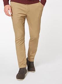 Camel Stone Slim Chino Trousers