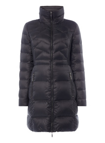 Quilted Feather And Down Parka