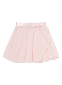 Pink Bow Detail Ballet Skirt (3-12 years)