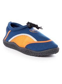 Blue and Orange Wetshoes