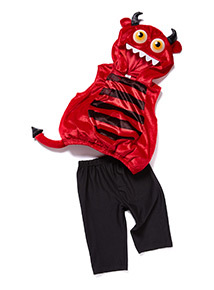 Red Halloween Devil Outfit (0-4 years)