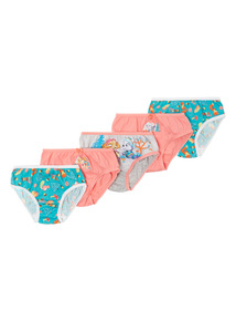 Multicoloured 5 Pack Paw Patrol Briefs (2-7 years)