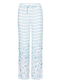 Sea Print Pyjama Bottoms