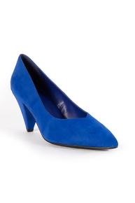 Royal Blue Court Shoes
