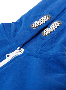 Blue Zip Through Hoody (3-14 years)