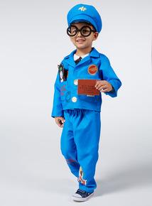 Boys Multicoloured Postman Pat Costume (1-6 years)