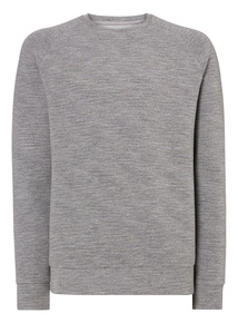 Grey Bonded Sweatshirt