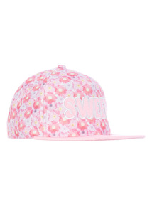 Pink Sweet Flat Peak Cap (3 - 12 years)