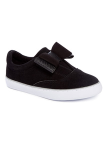 Black Bow Skater Shoes