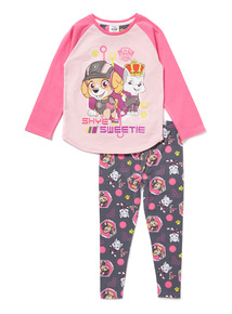 Pink Paw Patrol Pyjama Set (9 months-6 years)