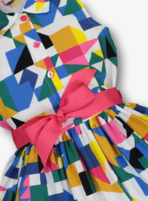 Multicoloured Abstract Print Dress (3-14 years)