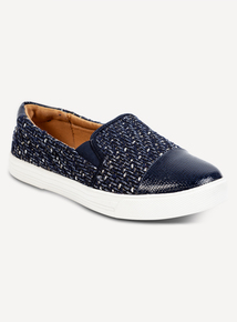 Online Exclusive Sole Comfort Navy Skater Shoes