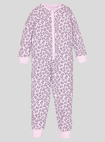 Pink Leopard Print All In One (2-12 years)
