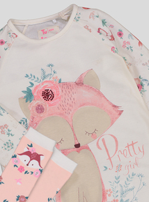 a055b7772e Out of stock Cream Fox Nightie Set With Socks (2-12 years)