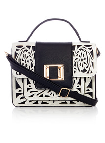 Cutwork Boxy Bag