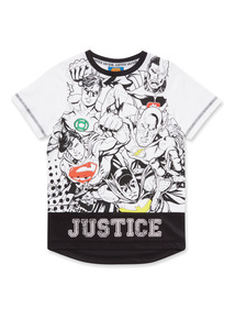 Multicoloured Justice League Top (3-14 years)
