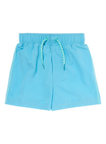 Boys Blue Basic Swim Short (1-12 years)