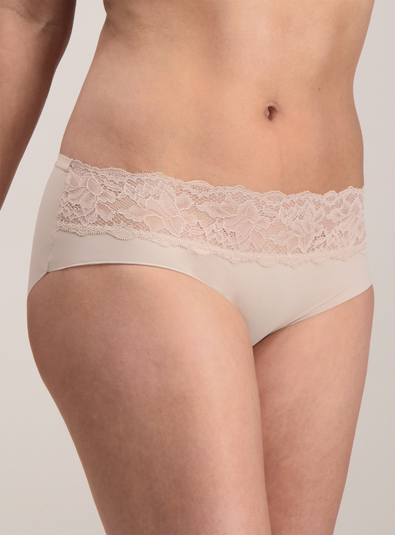 Womens Online Exclusive Nude Lace Top Shorts 3 Pack  a476c065c