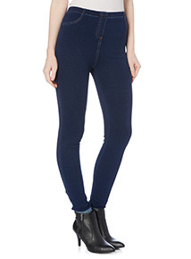 Blue Dark Wash Jegging