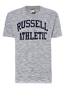 Russell Athletic Blue Space Dye Tee