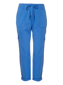 Rolled-Up Utility Trousers