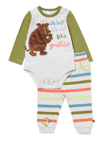 Multicoloured Gruffalo Bodysuit and Joggers Set (0-24 months)
