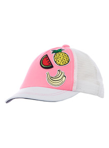 Multicoloured Badged Baseball Cap (1 - 12 years)