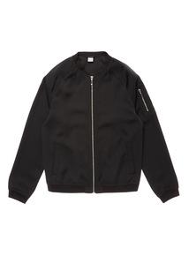 Black Bomber Jacket (3 - 14 years)