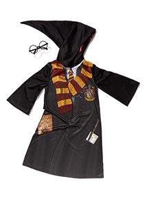 Black Harry Potter Costume (3-12 years)  sc 1 st  Tu clothing & Childrens Dress Up