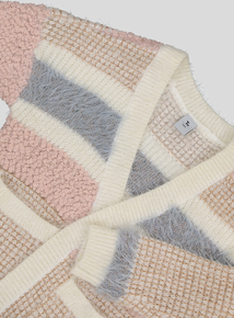 Multicoloured Stripe Cardigan (3-14 years)
