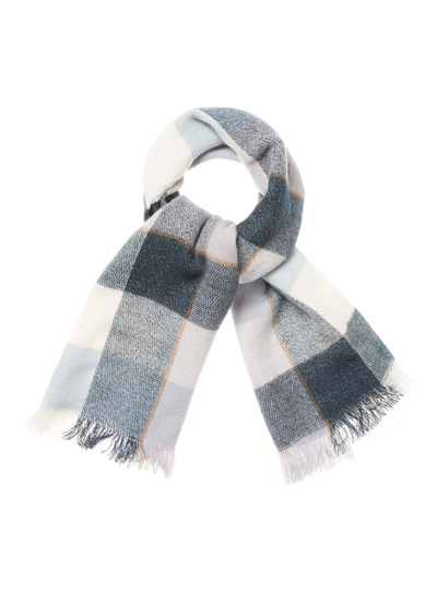 Multicoloured Icicle Woven Blanket Scarf (3 - 14 years)